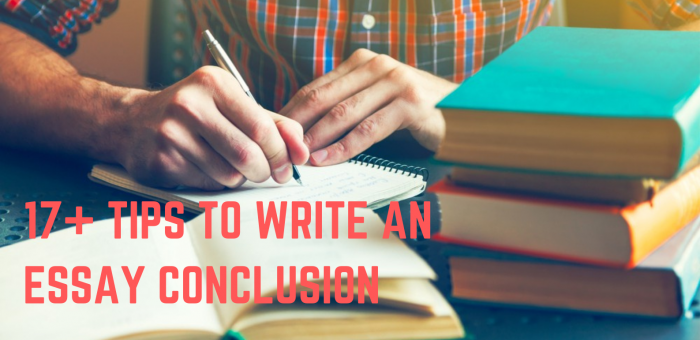 Tips to write an essay conclusion